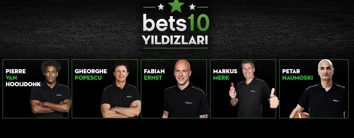 Bets10 Yıldızları Kazandırıyor